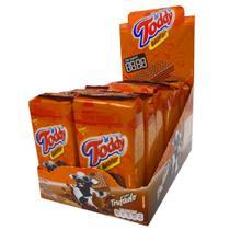 Biscoito Mini Wafer Trufado Toddy 29g c/16 - Quaker -