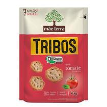 Biscoito Orgânico Tribos Tomate e Manjericão Mãe Terra 50g -