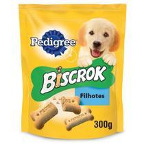 Biscoito Pedigree Biscrok Junior para Filhotes 300 gr -
