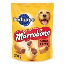 Biscoito Pedigree Biscrok Marrobone Cães Adultos Sabor Carne 200g -