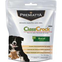 Biscoito Premiatta ClassCrock Snacks Bucal Cães 250g -
