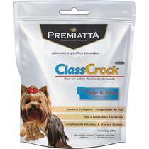 Biscoito Premiatta ClassCrock Snacks Pele & Pelo Cães 250g -