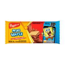 Biscoito Wafer Bauducco Sabor Chocolate 30g -