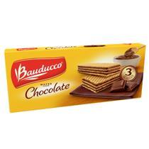 Biscoito Wafer Chocolate 140g - Bauducco -