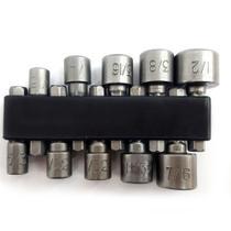 Bits Uso Mecânica Profissional Aço Cromo Vanádio 4 A 13 Mm - Vip