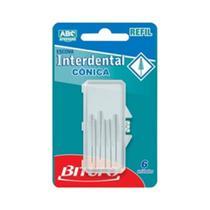 Bitufo Cônico Refil Interdental C/6 -