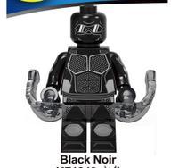 Black Noir - DC Comics - Minifigura De Montar - Aliança Geek