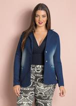 Blazer Jeans Plus Size - Quintess