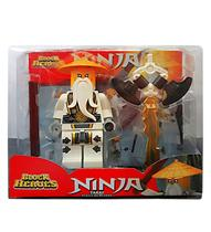 Block Heroes Missão Ninja Takai Mestre do Dragão Polibrinq BL587 -