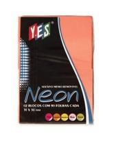 Bloco Auto Adesivo Memo Removível Colorido - Paperhome