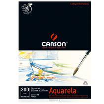 Bloco Canson Aquarela  Mix Media Linha Universitária 300g/m² A4 com 12 Folhas  66667180 -