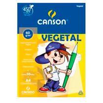 Bloco Canson Papel Vegetal 60g A4 50 Folhas -