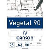 Bloco Canson Vegetal 95g A3 -