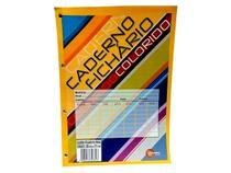 Bloco de Fichário Colorido, 96 Folhas, Caixa Com 10 Unidades, Máxima Caderno - 1257 - Maxima