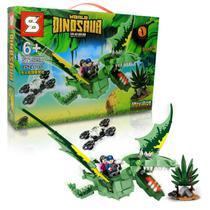 Bloco de Montar Creator Dinossauro Pterossauros / Lego Jurassic World 390 Pcs 6+ SY -