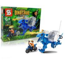 Bloco de Montar Creator Dinossauro Velociraptor Blue Azul / Lego Jurassic World 232Pcs 6+ SY -