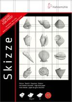 Bloco Desenho Skizze 96 g/m² 21 x 29,7 cm com 100 Folhas Kit com 2 blocos + Estojo Hahnemuhle - Hahnemühle
