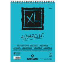 Bloco Espiralado Canson XL Aquarelle 300g/m² A3 29,7 x 42 cm com 30 Folhas  400039171 -