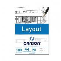 Bloco layout a3 180g - 66667028 - Canson
