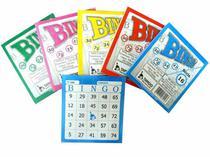 Bloco Para Bingo Com 100 Folhas Amarelo 6005 Tamoio -