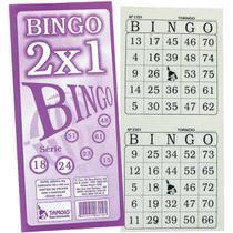 Bloco para bingo jornal bingao 2 x1 100 folhas pct.c/12 - Tamoio