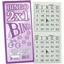Bloco para Bingo Jornal Bingao 2 X1 100 Folhas - Tamoio