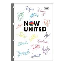 Bloco para fichário universitário Now United 4 furos - 80 folhas - Tilibra -