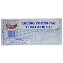 Bloco Recibo Comercial c/ Canhoto 50 fls Und Ref: 3.009 - Kaz