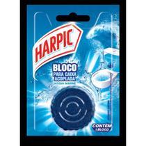 Bloco Sanitario Caixa Acoplada 50g Marine 1 UN Harpic -