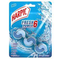 Bloco Sanitario Fresh Power 6 Acqua Marine 1 UN Harpic -