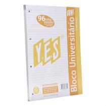 Bloco Universitário 96 Folhas A4 Premium - Yes