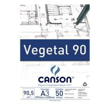 Bloco vegetal a4 95g 50fls-66667018 - Canson