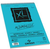 Bloco XL Aquarelle 300 g/m² A-3 29,7 x 42,0 cm com 30 Folhas Canson -