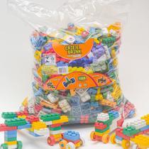 Blocos De Montar 1008 Peças Grandes Brinquedo Educativo - Gravobrink