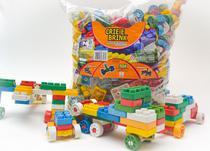 Blocos De Montar 504 Peças Grandes Brinquedo Educativo - Gravobrink