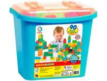 Blocos de Montar Block Box Meninos Cardoso Toys - 90 Peças