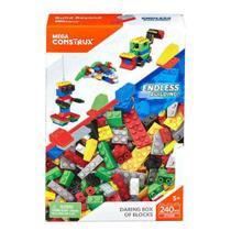 Blocos de Montar Box Grande Mega Construx - Mattel -