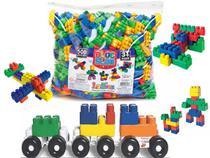 Blocos De Montar Brinquedo Educativo 176 Peças Infantil  Didatico - Luctoys