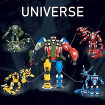 Blocos De Montar Change Union Estilo Lego Peizhi 3 em 1 -