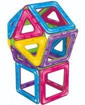 Blocos de Montar Em Formas Magnéticas Com 30 Peças Dican -