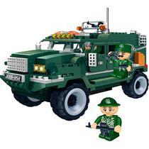 Blocos De Montar Forca Tatica Veiculo Militar 8252 Banbao -