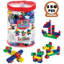 Blocos De Montar Infantil Brinquedo Didático 350 Peças - Luctoys -