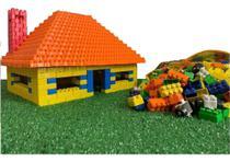 Blocos De Montar Infantil Brinquedo Didático 500 Peças - Luc -