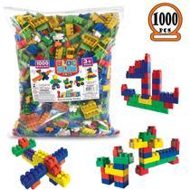 Blocos De Montar Infantil Brinquedo Educativo 1000 Peças - Luc
