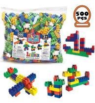 Blocos De Montar Infantil Brinquedo Educativo 500 Peças - Luctoys - Lider Brinquedos