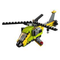 Blocos de Montar - Lego Creator - Aventura de Helicoptero -