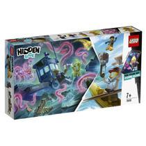 Blocos de Montar - Lego Hidden Side - Barco de Pesca de Camarao Naufragado ESTRELA -
