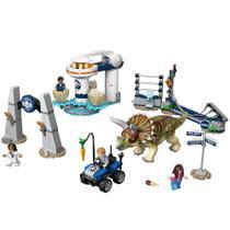 Blocos de Montar - Lego Jurassic World - Furia do Triceratops M. BRINQ - Universal
