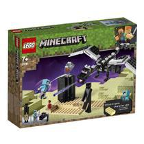 Blocos de Montar - Lego Minecraft - O Combate do Fim -