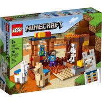 Blocos de Montar - Lego Minecraft - O Posto Comercial - 21167 LEGO DO BRASIL -